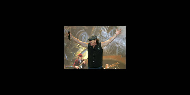Le concert d'AC/DC de ce soir est annulé - La Libre