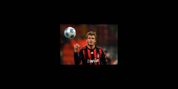 L'AC Milan proche d'un accord sur Beckham