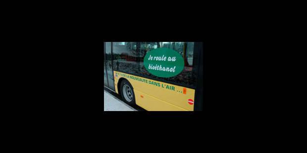 Ça roule pour le bus à éthanol à Stockholm - La Libre