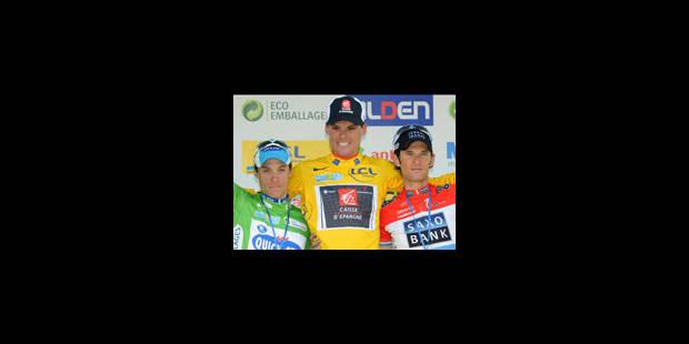 Contador perd, le vélo y gagne - La Libre