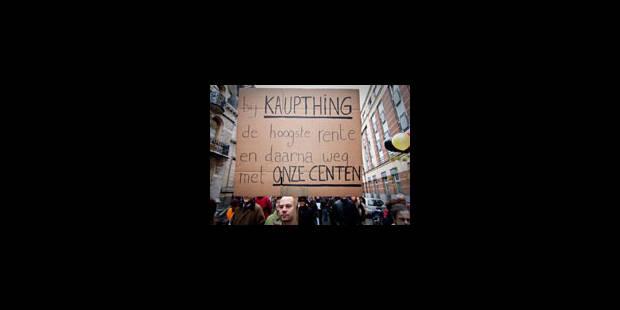 Le sauvetage de Kaupthing Luxembourg compromis? - La Libre