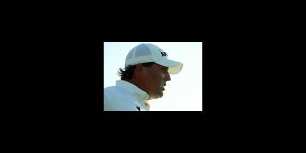 Tiger Woods menacé au classement mondial par Phil Mickelson - La Libre