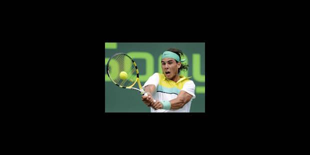 Nadal se joue des Suisses - La Libre