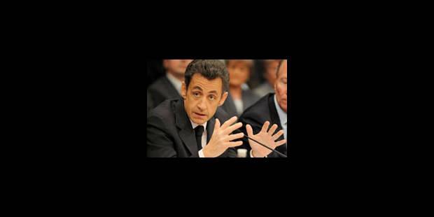 Sarkozy menace de claquer la porte du G20, si... - La Libre
