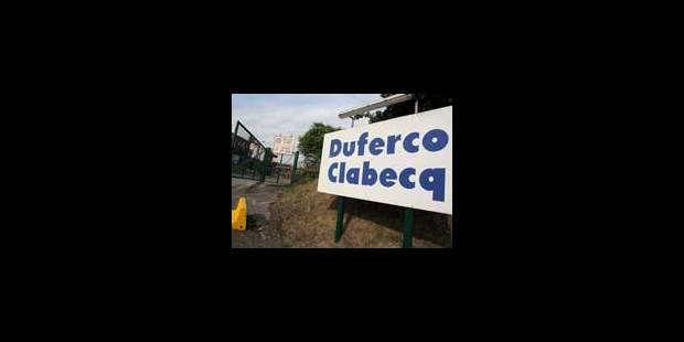 4/5e temps pour les employés de Duferco Clabecq - La Libre