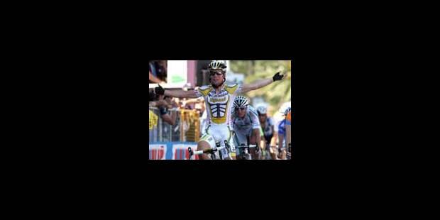 13e étape: victoire de Cavendish - La Libre