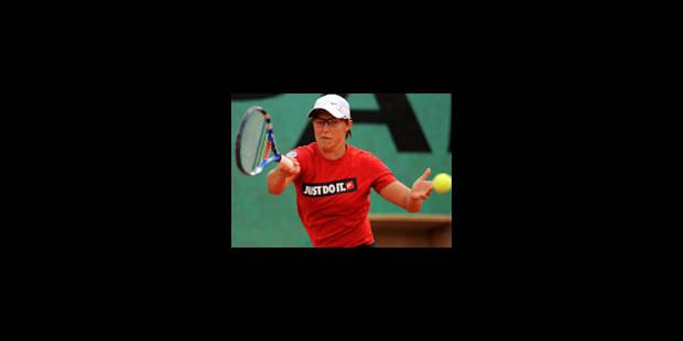 Kirsten Flipkens qualifiée pour le 2e tour - La Libre