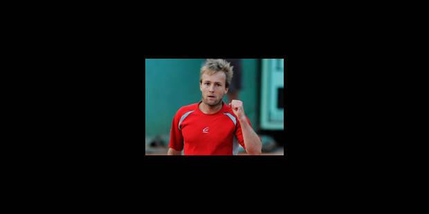 Christophe Rochus qualifié pour le 2e tour - La Libre