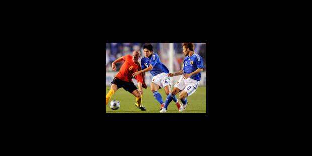 Le Japon bat la Belgique à la Kirin Cup