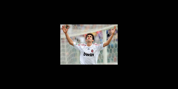 Kaka au Real Madrid pour 65 millions d'euros - La Libre