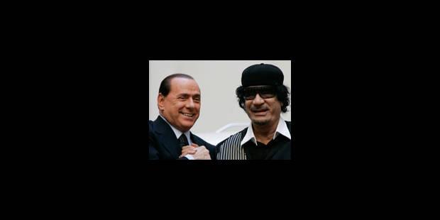 La stratégie médiatique de Berlusconi - La Libre