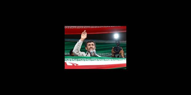 Une réélection qui embrase Téhéran - La Libre