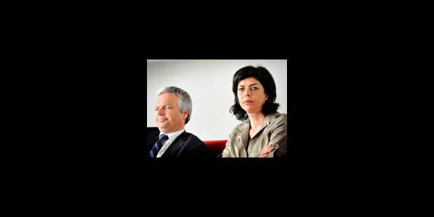 Reynders et Milquet ont mis les choses à plat - La Libre
