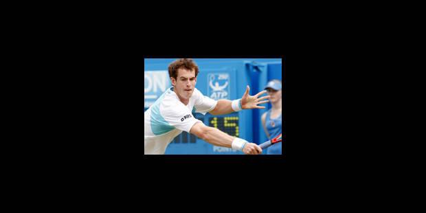 Victoire d'Andy Murray au Queen's - La Libre