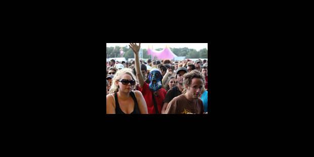 Plus de 140.000 personnes au festival de Dour - La Libre