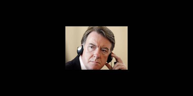 Mandelson veut que la Commission européenne s'implique