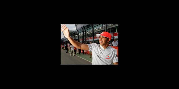 Victoire de Lewis Hamilton à Singapour - La Libre