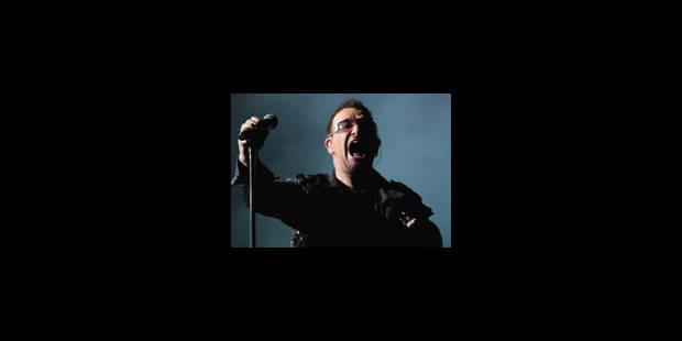 Le concert de U2 en septembre 2010 est complet - La Libre