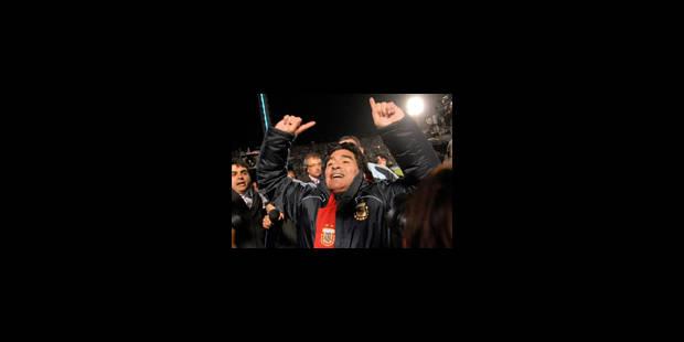 La Fifa va ouvrir une procédure disciplinaire contre Maradona - La Libre