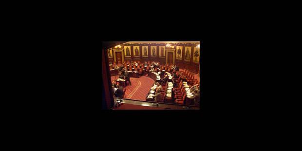 L'avenir du Sénat suscite quelque chahut en son assemblée