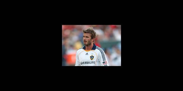 Beckham de retour à l'AC Milan en janvier