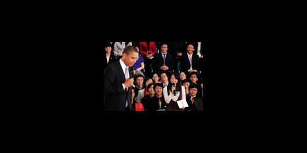 Obama prêche pour Twitter en Chine - La Libre