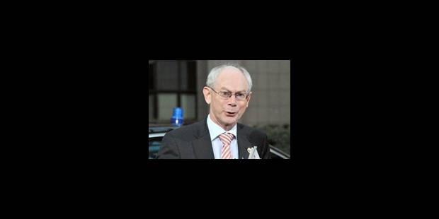 Van Rompuy, premier Président du Conseil européen - La Libre