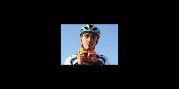 Contador reçoit le trophée du meilleur coureur 2009