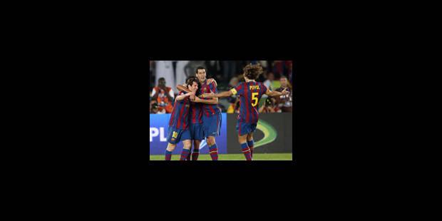 Mondial des clubs - Le FC Barcelone en finale - La Libre