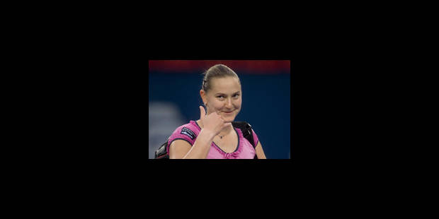 Nadia Petrova, première adversaire de Justine - La Libre
