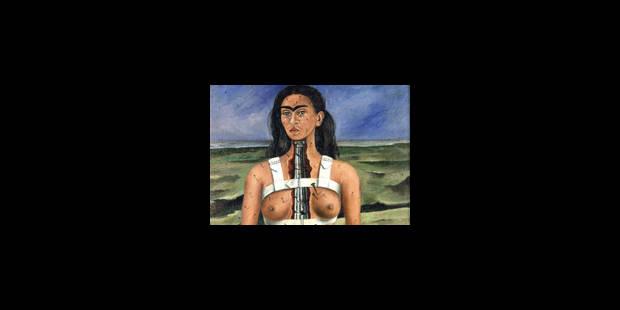 Mise en lumière audacieuse de Frida Kahlo - La Libre