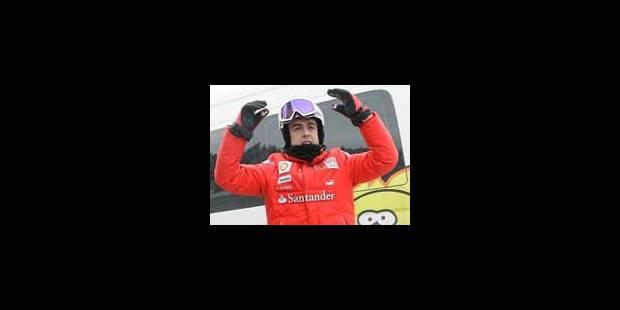 Alonso mise à fond sur la nouvelle Ferrari F10 - La Libre