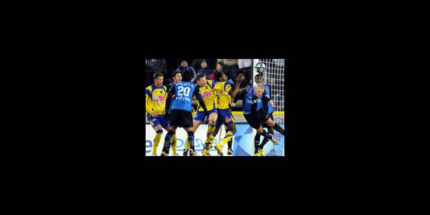 Le Club Bruges reste à 6 points d'Anderlecht