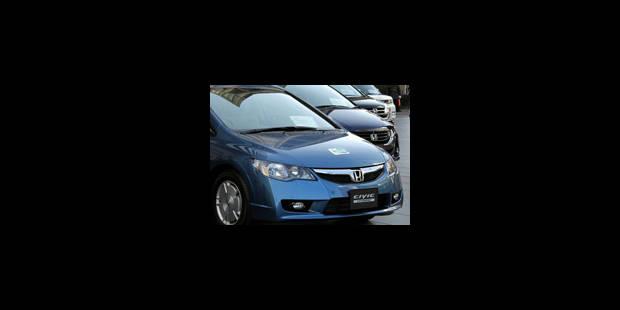 Honda: 437.763 rappels dans le monde