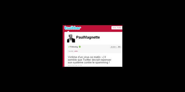 Twitter : Paul Magnette victime de piratage - La Libre