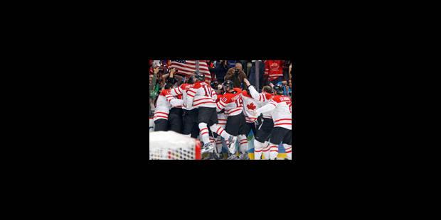 JO 2010 - Hockey sur glace: le Canada bat les Etats-Unis, la fête est complète - La Libre