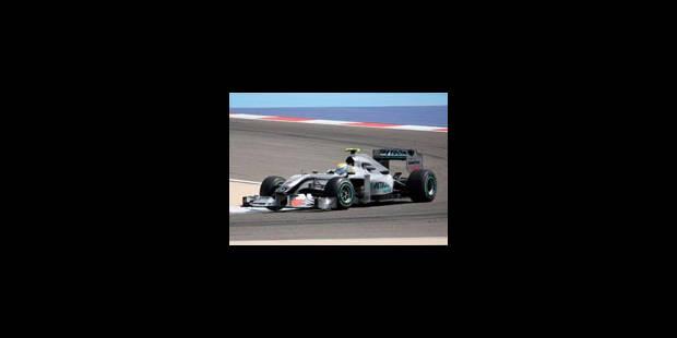 Barhein - Essais libres: Rosberg éclipse Schumacher