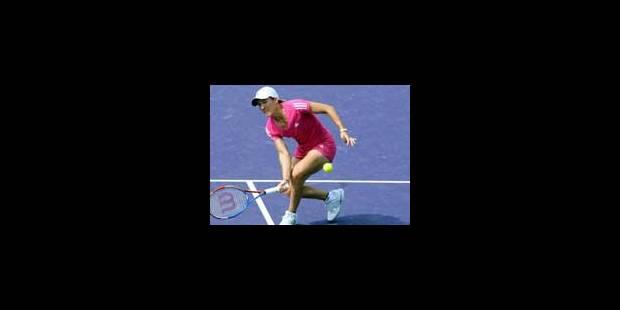 Olivier Rochus et Justine Henin au 2e tour à Miami - La Libre