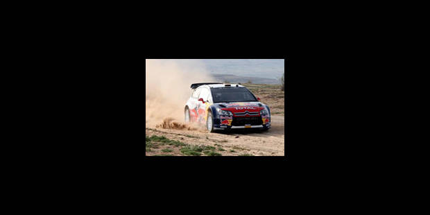 Rallye de Jordanie - Loeb prend les choses en mains - La Libre