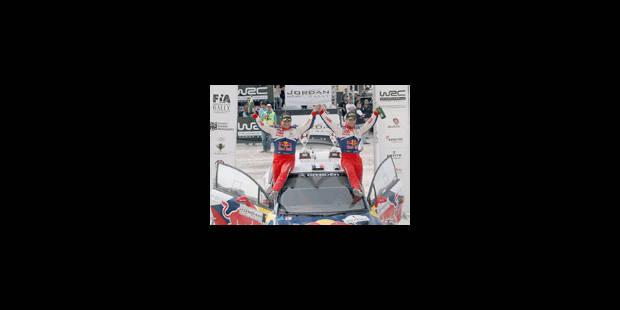 WRC - Rallye de Jordanie - 56e victoire de Sébastien Loeb