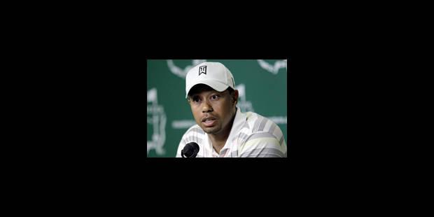 """Tiger Woods: """"Prisonnier de mes mensonges"""" - La Libre"""
