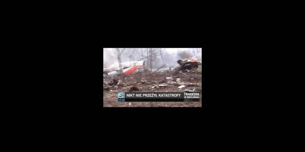 L'appareil du président polonais s'écrase près de Smolensk: 96 morts