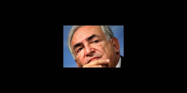 """Dominique Strauss-Kahn n'a """"pas d'autre projet"""" que le FMI - La Libre"""