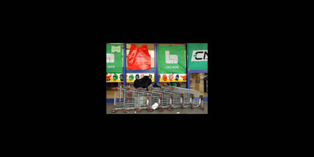 Carrefour: pas de commentaires après la réunion de concertation - La Libre
