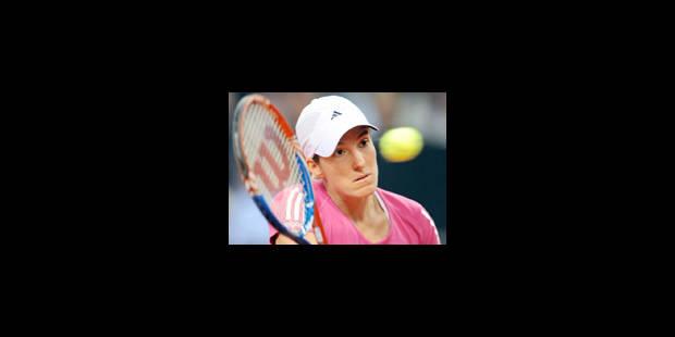 Justine Henin remporte le tournoi de Stuttgart - La Libre
