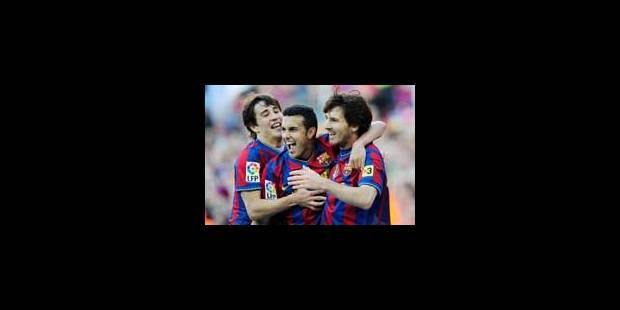 Le Barça, roi d'Espagne - La Libre