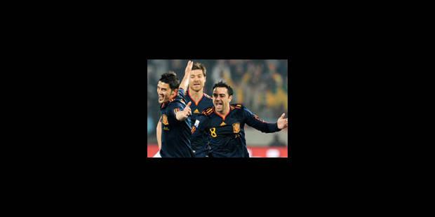 Espagne et Chili en 8es de finale - La Libre