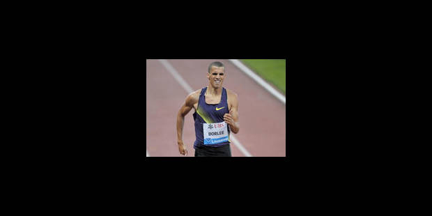 400 mètres : nouveau record de Belgique pour Jonathan Borlée - La Libre