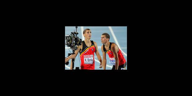Euro: La Belgique en finale du 4x400 m messieurs