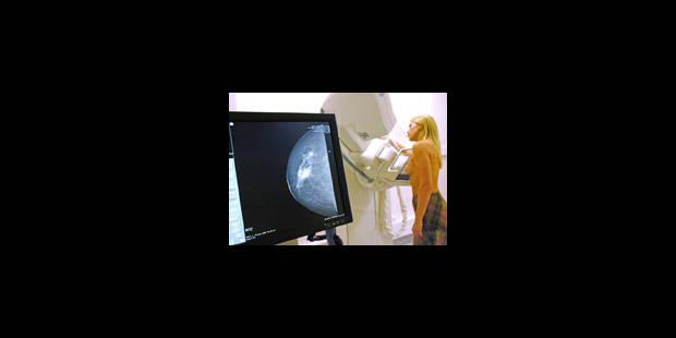 La Belgique est le pays comptant le plus de cas de cancer du sein